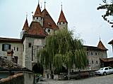Thun castle (built 1190)